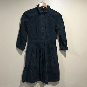 Levi's Green/Black Gingham Dress